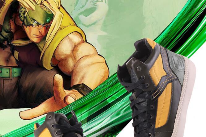 Le scarpe Diesel per i 30 anni di Street Fighter