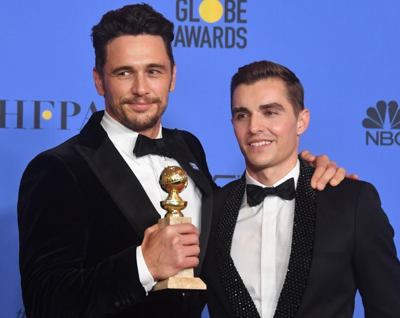 James Franco ritira il suo Golden Globe