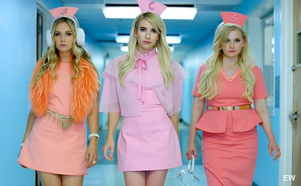 Le Chanel infermiere in Scream Queens 2