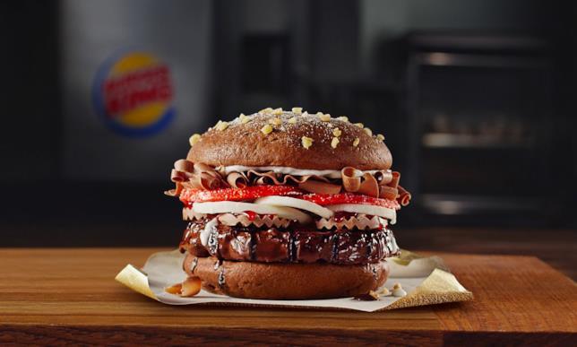 Il Whopper al cioccolato di Burger King