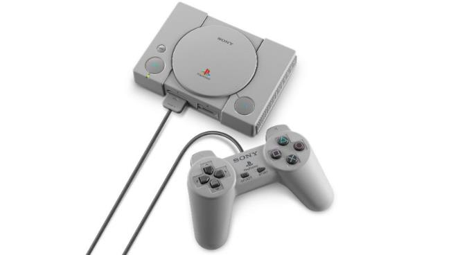 La scocca in miniatura di PlayStation Classic