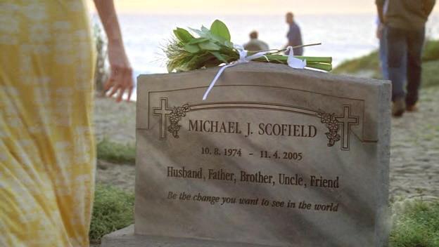 Prison Break, la tomba di Michael Scofield