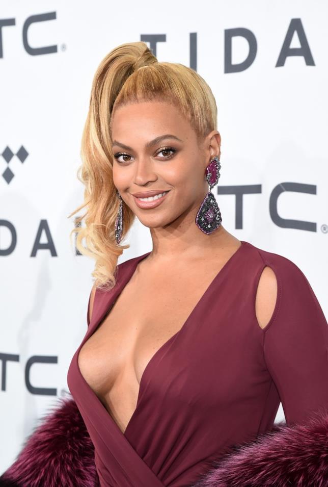 Beyoncé ad un evento di gala
