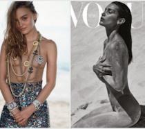 Gli scatti hot di Lily-Rose Depp e Bella Hadid su Vogue