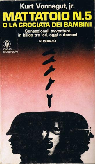 Copertina di Mattatoio n.5 degli Oscar Mondadori, 1969