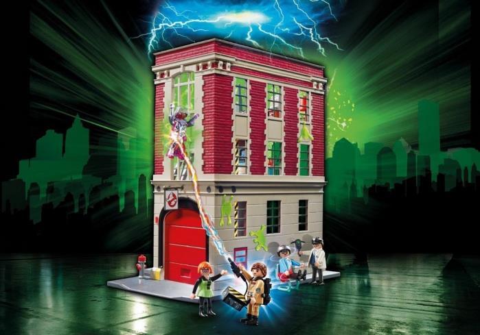 La caserma dei Ghostbusters di Playmobil