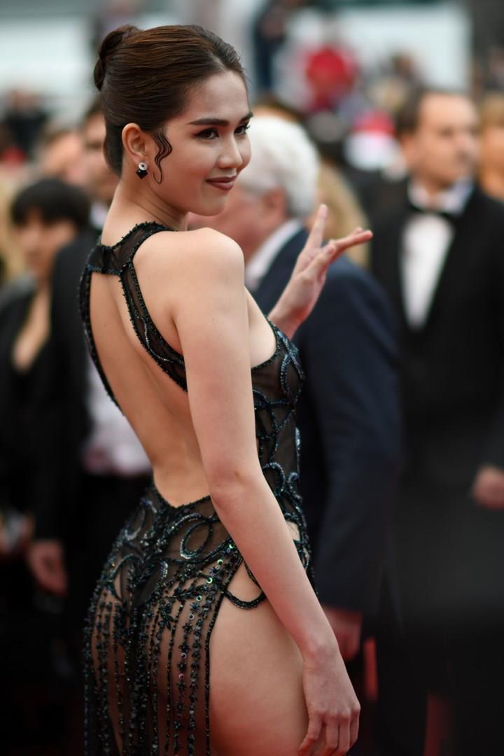 Ngoc Trinh a Cannes