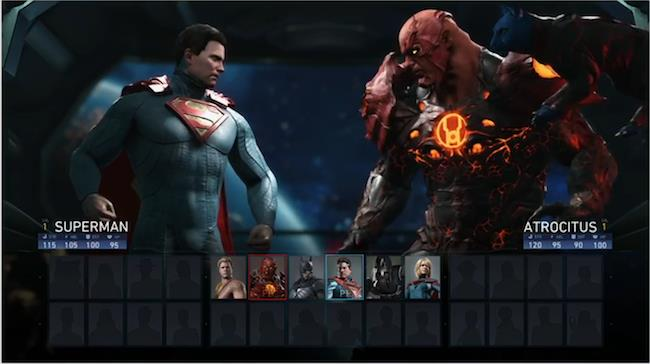 Superman pronto allo scontro contro Atrocitus
