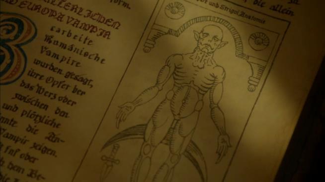 L'Occido Lumen è l'antico libro che contiene tutti i segreti degli strigoi