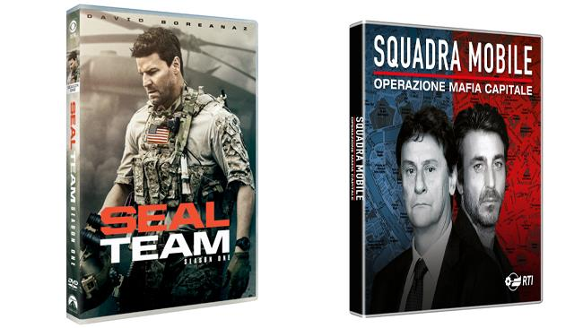 Squadra mobile (stagione 2) e Seal Team (stagione 1) - Home Video
