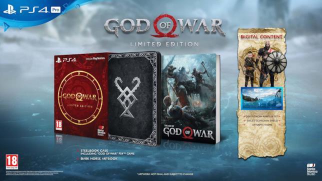 La Limited Edition di God of War in esclusiva da Unieuro