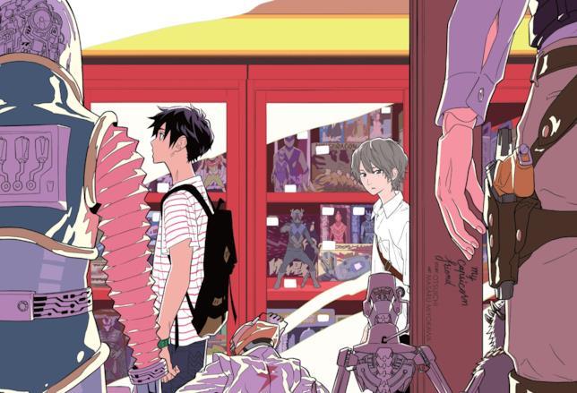 Yuya Matsuda e Naoto Wakatsuki in fuga tra i negozi di Tokyo