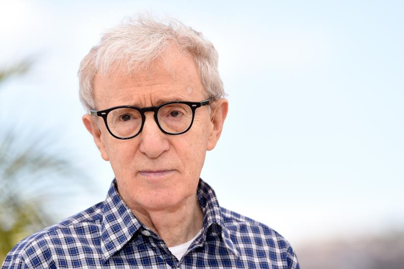 Woody Allen in primo piano