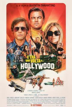 Il poster con tutti i personaggi di C'era una volta a Hollywood