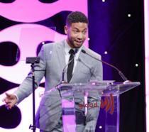 Jussie Smollett, Jamal di Empire, parla al gala dei GLAAD Awards