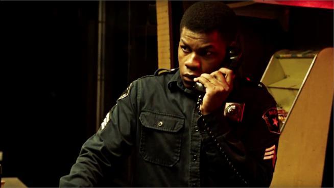 John Boyega in una scena del film Detroit
