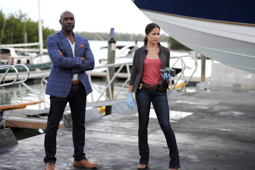 Beaumont Rosewood e Annalise Villa in azione nella serie TV Rosewood