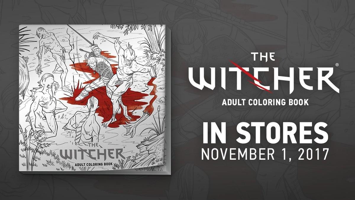 The Witcher Arriva Il Libro Da Colorare Per Adulti