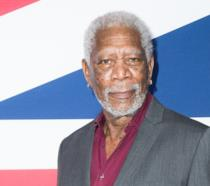 Morgan Freeman in primo pianp