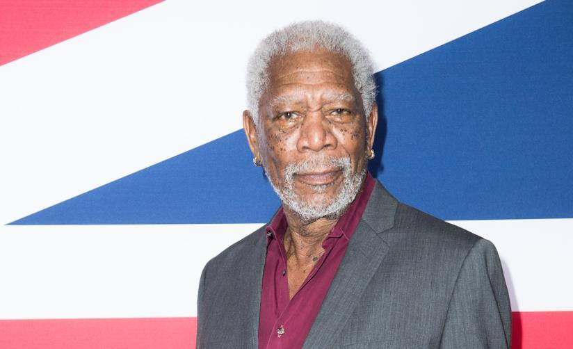 Morgan Freeman in primo pianp