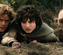 Frodo, Sam e Gollum ne Le due torri