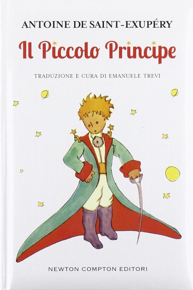 La copertina de Il piccolo principe
