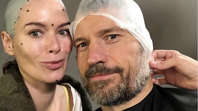Lena Headey e Nikolaj Coster-Waldau sul set dell'episodio 5 di Game of Thrones 8