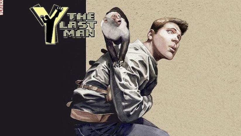 Un'immagine della cover del fumetto Y: The Last Man