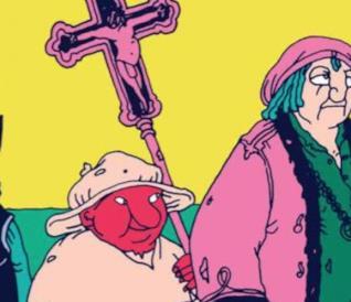Cristoforo Colombo visto da Altan