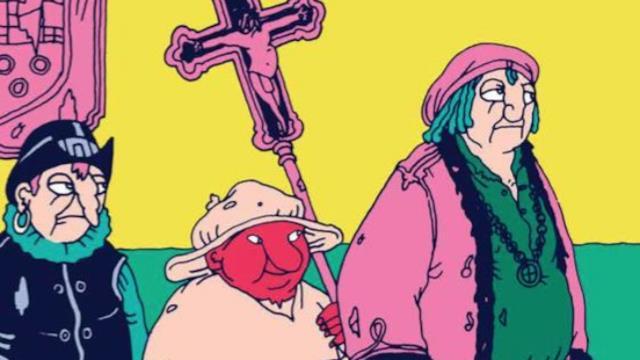 Coconino Press porta in libreria i romanzi a fumetti di Altan