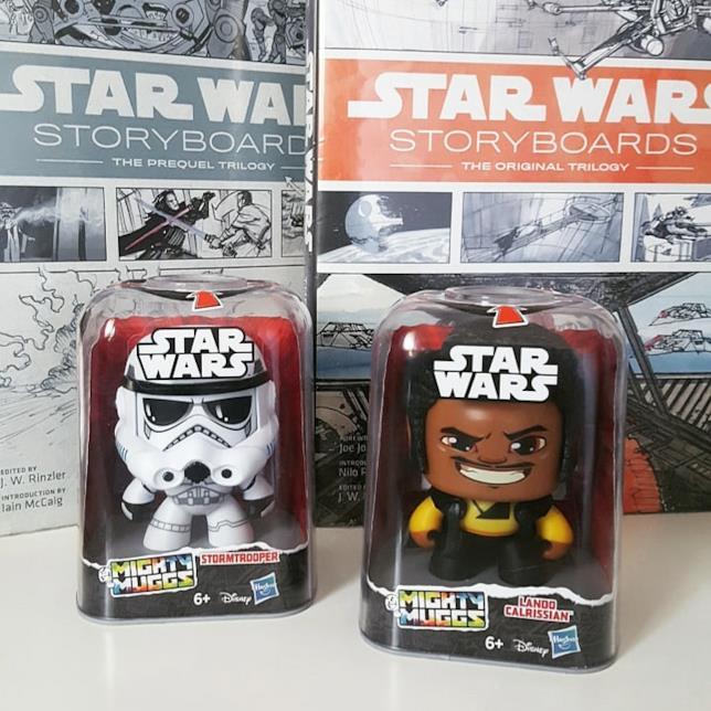 Lando Calrissian e uno Stormtrooper