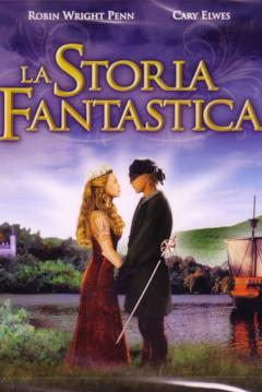 Westley e Bottondoro nella locandina italiana de La storia fantastica