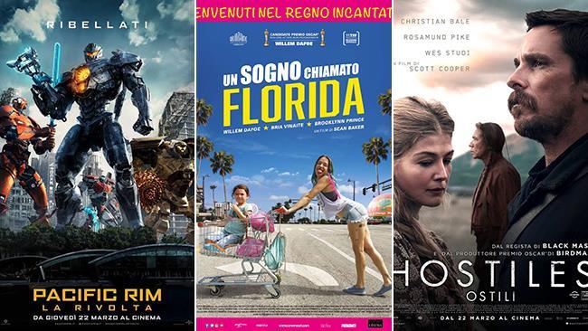 i film al cinema nel weekend del 24 e 25 marzo 2018