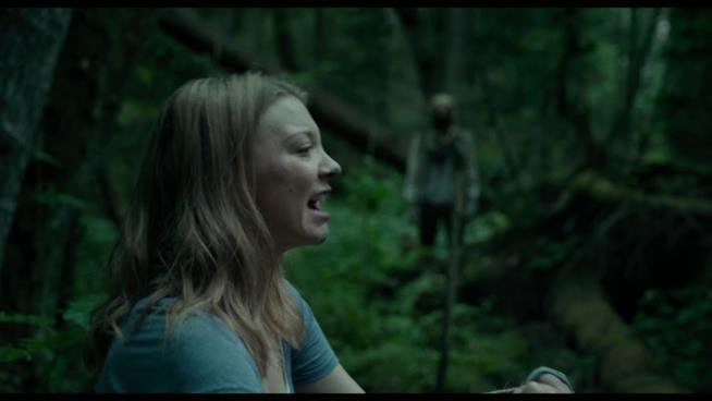 Sara è perseguitata da uno degli spiriti della foresta