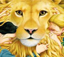 Illustrazione in copertina dell'edizione italiana de Le Cronache di Narnia