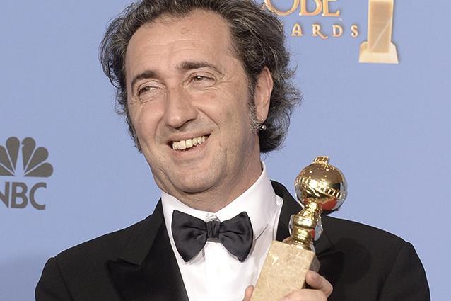 Paolo Sorrentino ritira l'Oscar
