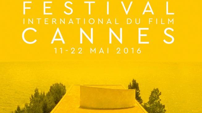 Un dettaglio della locandina del Festival di Cannes