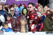 I fan alla prima di Avengers: Endgame