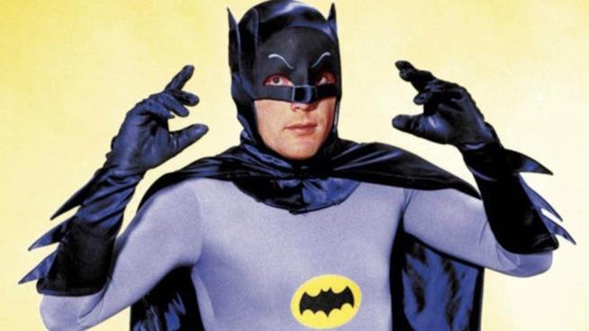 L'attore Adam West interprete di Batman nel 1966