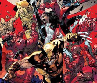 Dettaglio della cover di House Of X #4