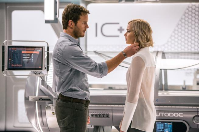 I due protagonisti di Passengers sono Jennifer Lawrence e Chris Pratt