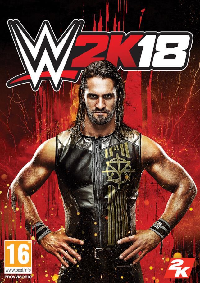 Seth Rollins sulla cover di WWE 2K18