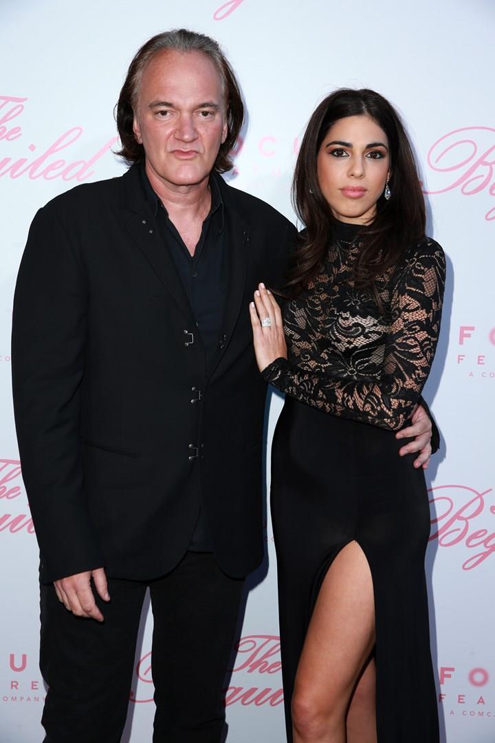Quentin Tarantino e Danielle Pick, sposi da poche ore