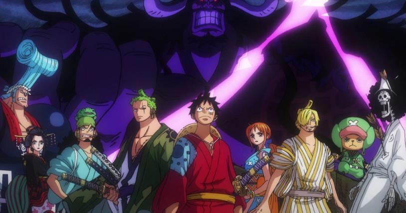 One Piece ciurma di Rufy e Kaido