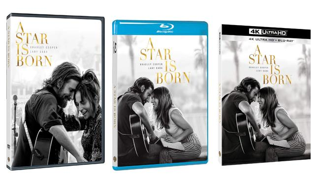 A Star is Born - Home Video - DVD - Blu-ray - 4K Ultra HD