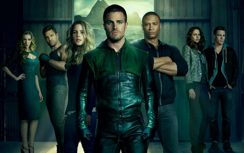 I personaggi principali di Arrow