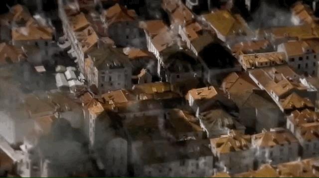 La visione di Bran in Game of Thrones