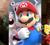 Alcuni dei personaggi dei giochi Ubisoft all'E3 2017