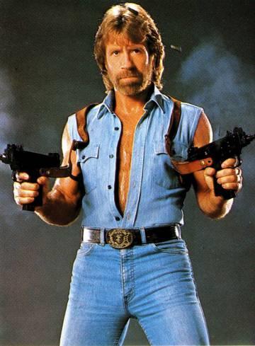 Chuck Norris approva questa foto