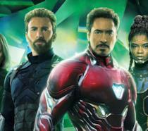 Cap, Iron Man, Vedova Nera e Shuri